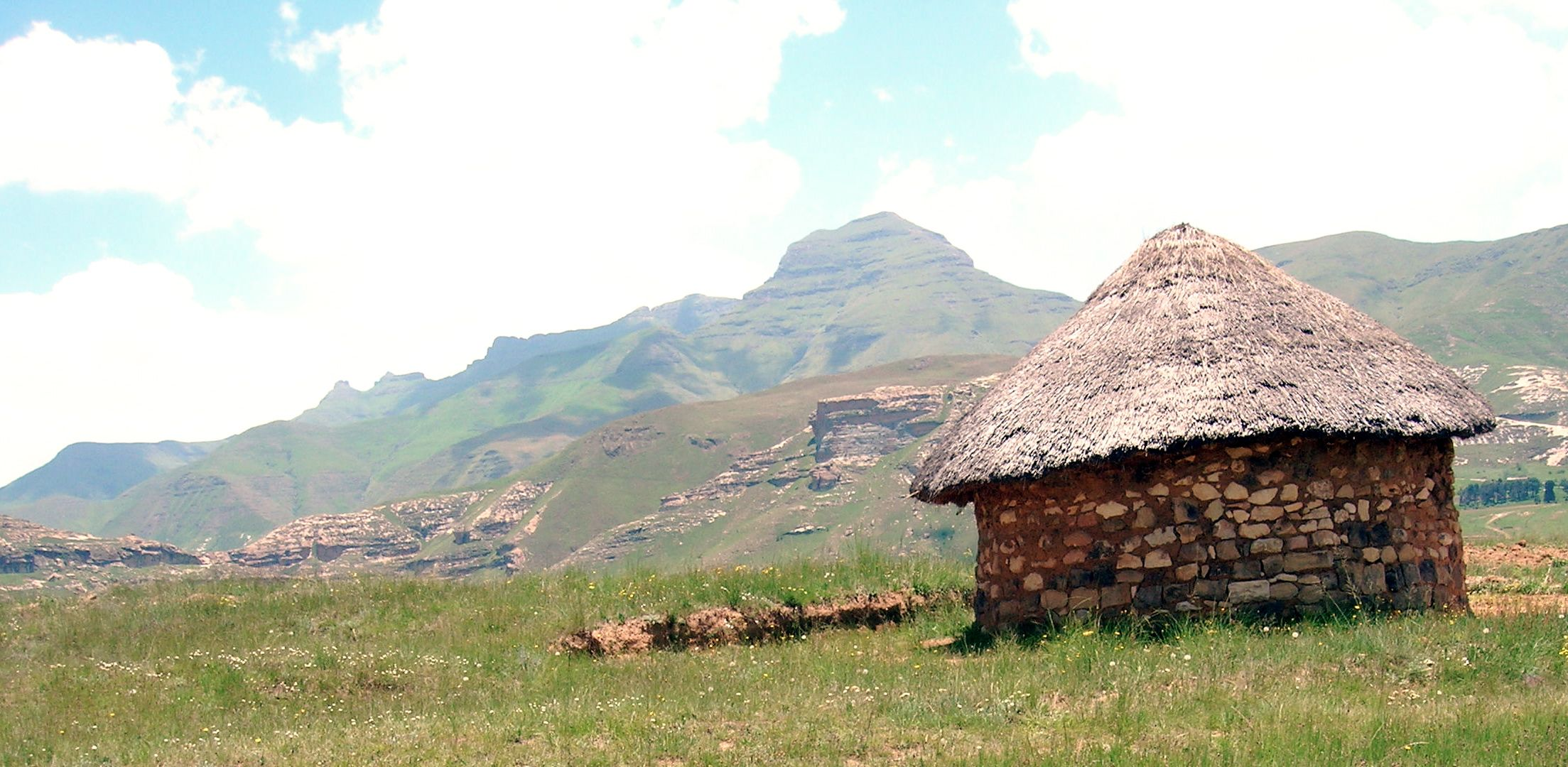 Home in rural Lesotho