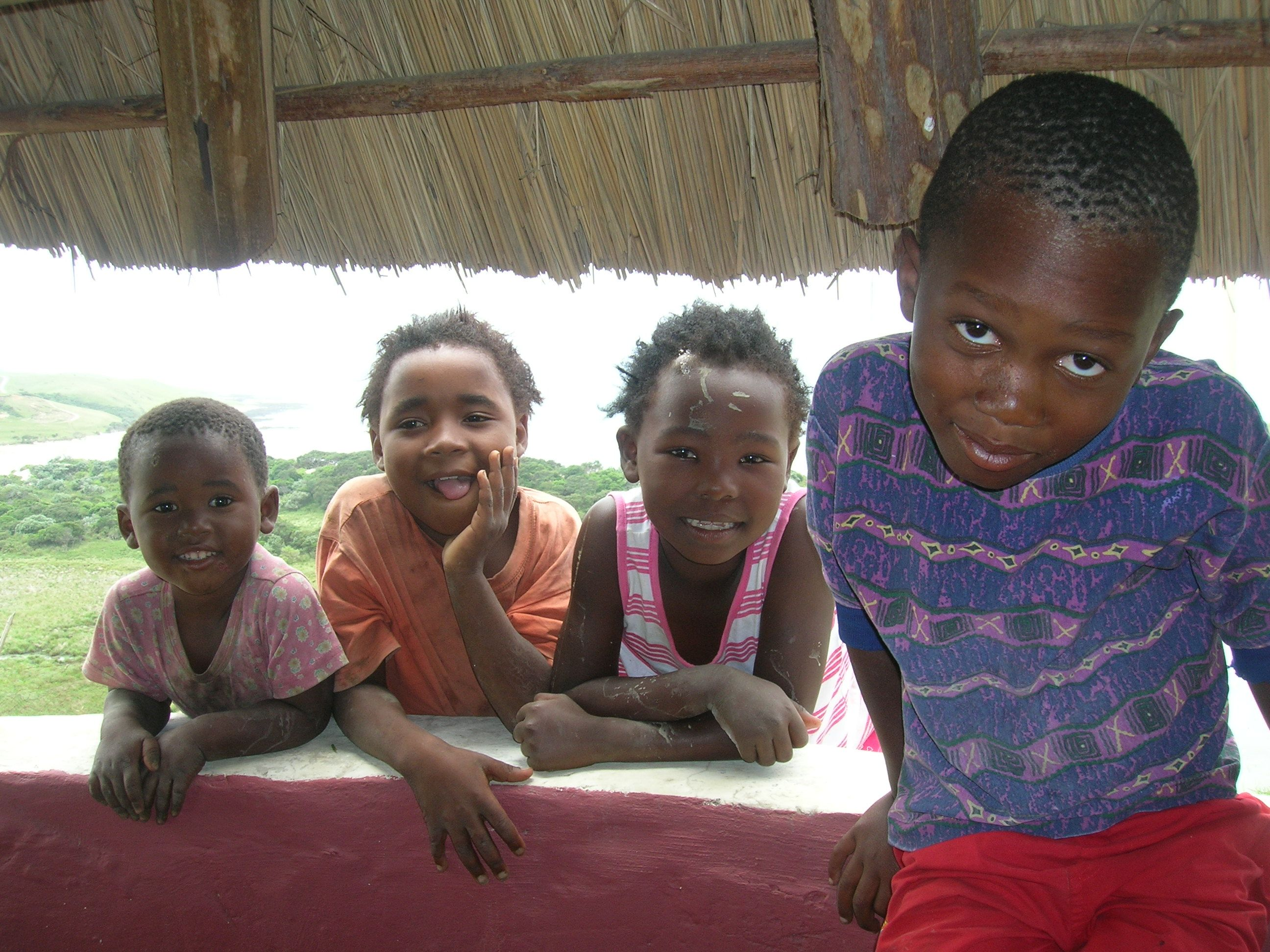 Xhosa children in Transkei