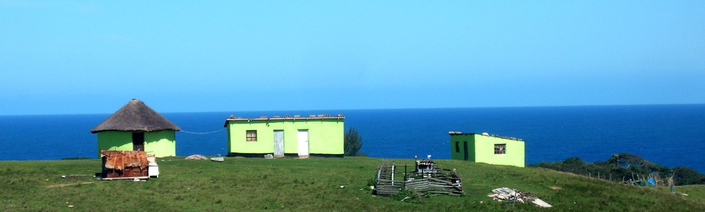 Xhosa Village by the sea