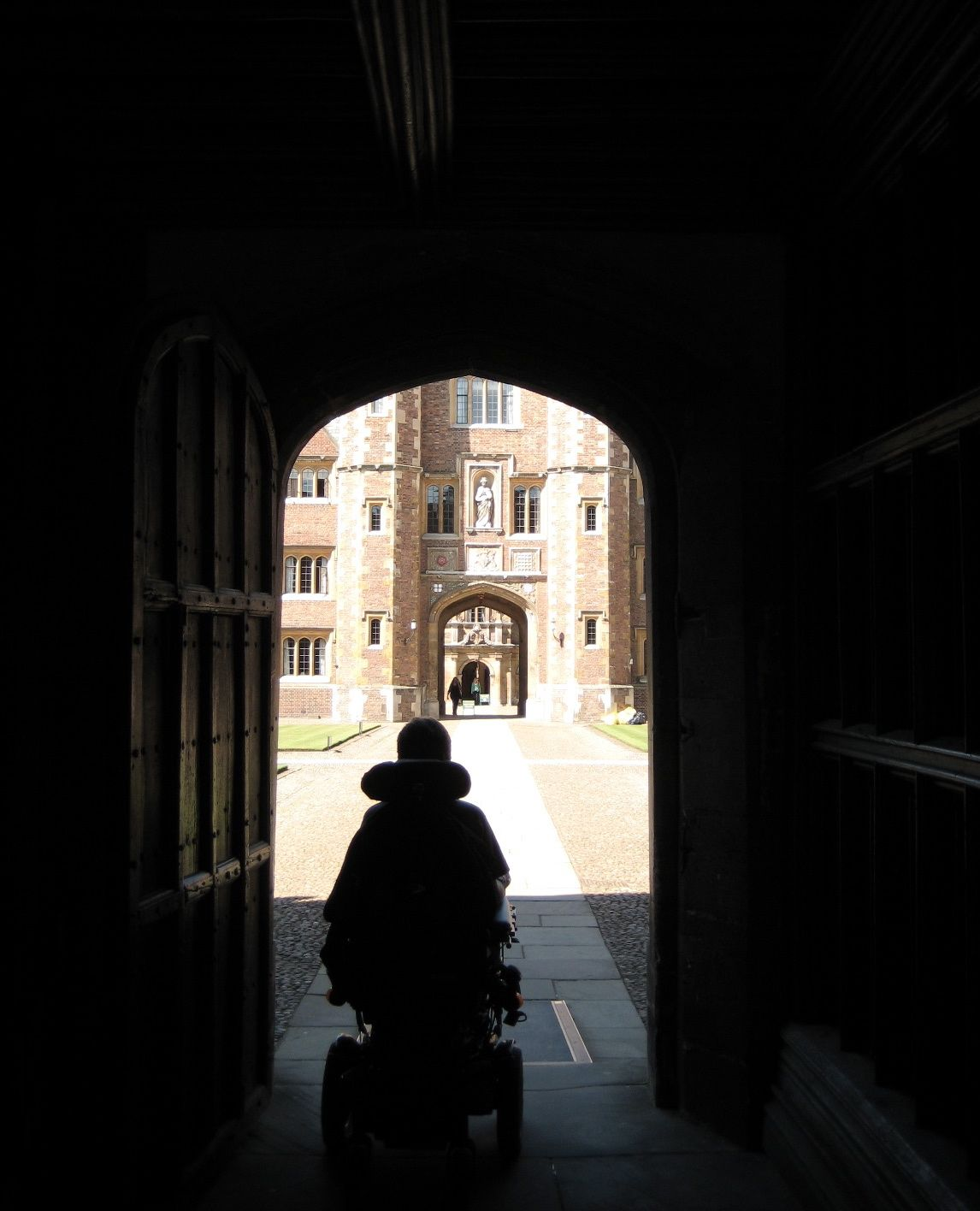 Esther entering King's College