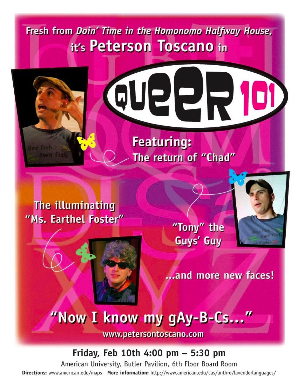 Queer 101--Now I Know My gAy,B,C's