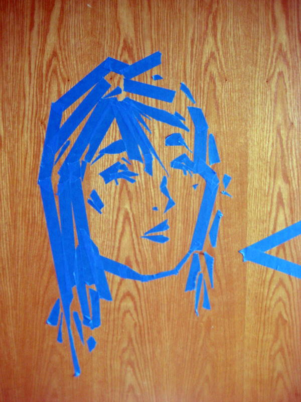 Original Masking Tape Art