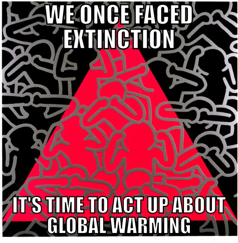 Act up global warming