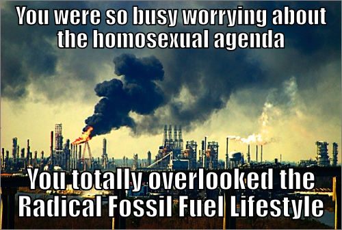 fossil fuel lifestyle