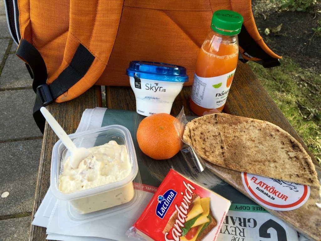 My Icelandic picnic lunch