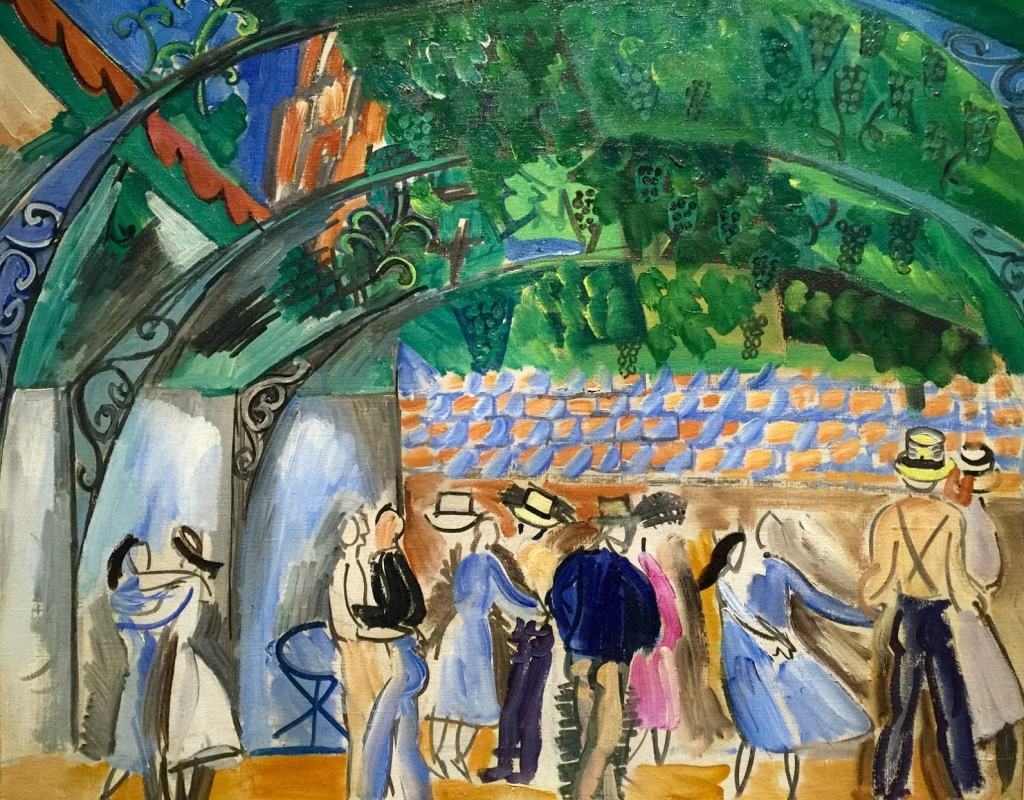 They July 14th Dance in Venice by Raoul Dufy